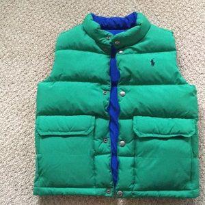 Polo by Ralph Lauren boys reversible down vest